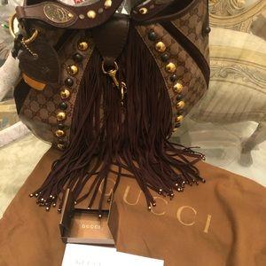 Gucci Large Babouska Studded Bag